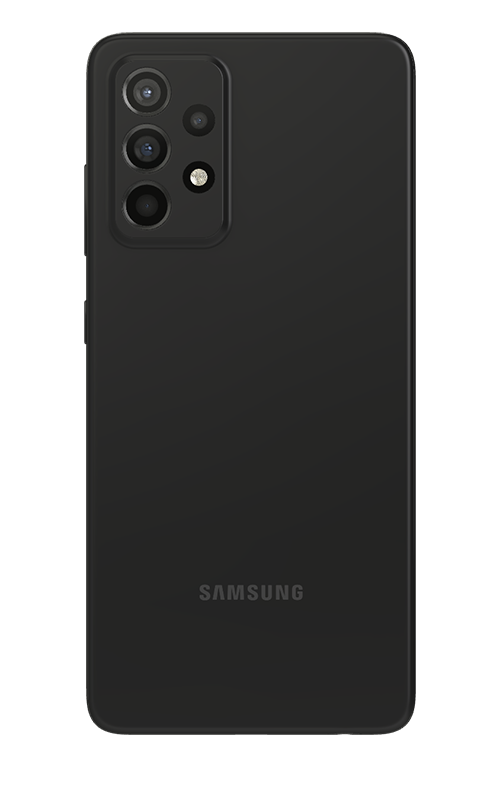 Galaxy A52 128 GB Dual SIM Awesome Black