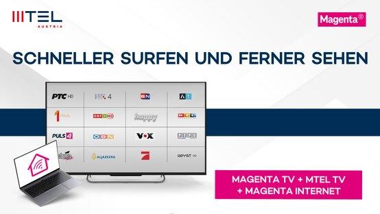 MTEL TV S 30 Tage gratis & Magenta Highspeed Internet