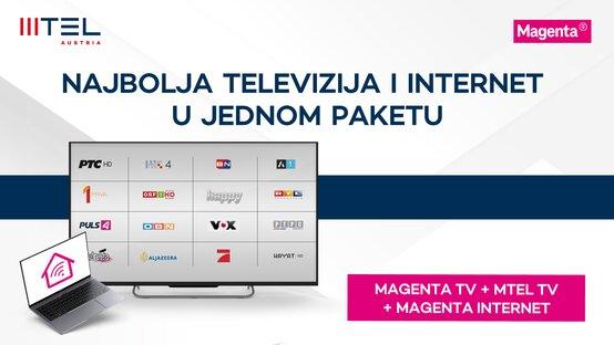 Gledaj MTEL TV 30 dana gratis!