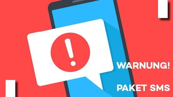 Achtung: Betrugsversuch mit gefälschten SMS